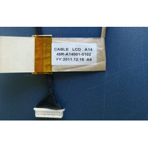 Cabo Flat Lcd Led Notebook Cce Bpse P/n: 45r-a14001-0102