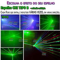 Espelho Cni Refletor Raio Laser Rebatedor Show Direcionador