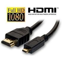 Cabo Micro Hdmi X Hdmi Tablet Xperia Motorola Atrix Xoom-n6