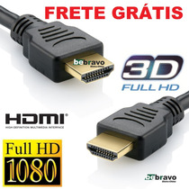 Cabo Hdmi 1.4 1.8m Full Hd 3d Ps3, Xbox, Bluray,notebook...