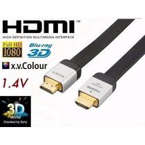Cabo Hdmi Sony Dlc-he20hf Banhado A Ouro Original 1.4a Ps4