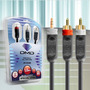 Cabo Dmd Diamond Cable Jx1053 Cabo P2/rca 3m
