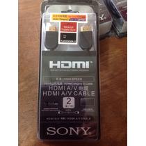 Cabo Hdmi Sony Original Dlc-hd20p - 2 Metros