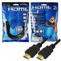Cabo P/ Monitor Hdmi M X Hdmi M 2mt 1.4 Ultra Hd