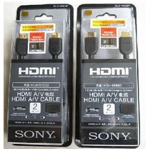 Cabo Hdmi - Dlc - Hd20p - Sony - 2 Metros