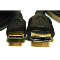Cabo Mini Hdmi Para Hdmi Audio/video Versao 1.5 Metros