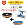 Promoção Fio Cabo Flexivel 16mm 25 Mts Preto +13 Mts Azul