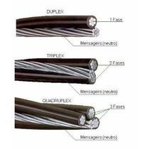 Frete Gratis Promoção Cabo Triplex (3vias) 10mm 200 Metros
