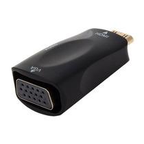 Mini Hdmi Vga Adaptador Cabo Para Conversor Com Audio N.f.