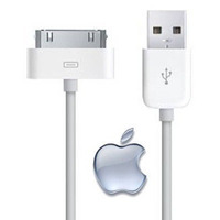 Cabo Usb Dados Original Apple Iphone 3g 3gs 4s 4g Ipad 2 3