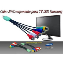 Cabo Av Componente Tv Led Samsung Lcd Xbox Ps3 Ps4 Blueray