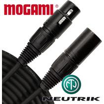 Cabo De Áudio Microfone Balanceado Xlr Mf 3m Mogami Neutrik