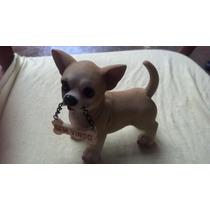 Chihuahua Em Resina Importado.