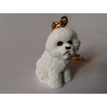 Chaveiro Presente Lindo Bichon Frise Cães Cachorro Toymport