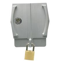 Trava De Segurança Porta Cadeado Vidro Temperado Fechad 3530