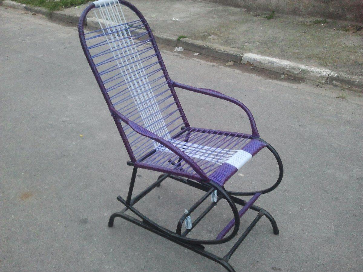 Cadeira De Balanço Com Base Fixa R$ 114 99 no MercadoLivre #51577A 1200x900