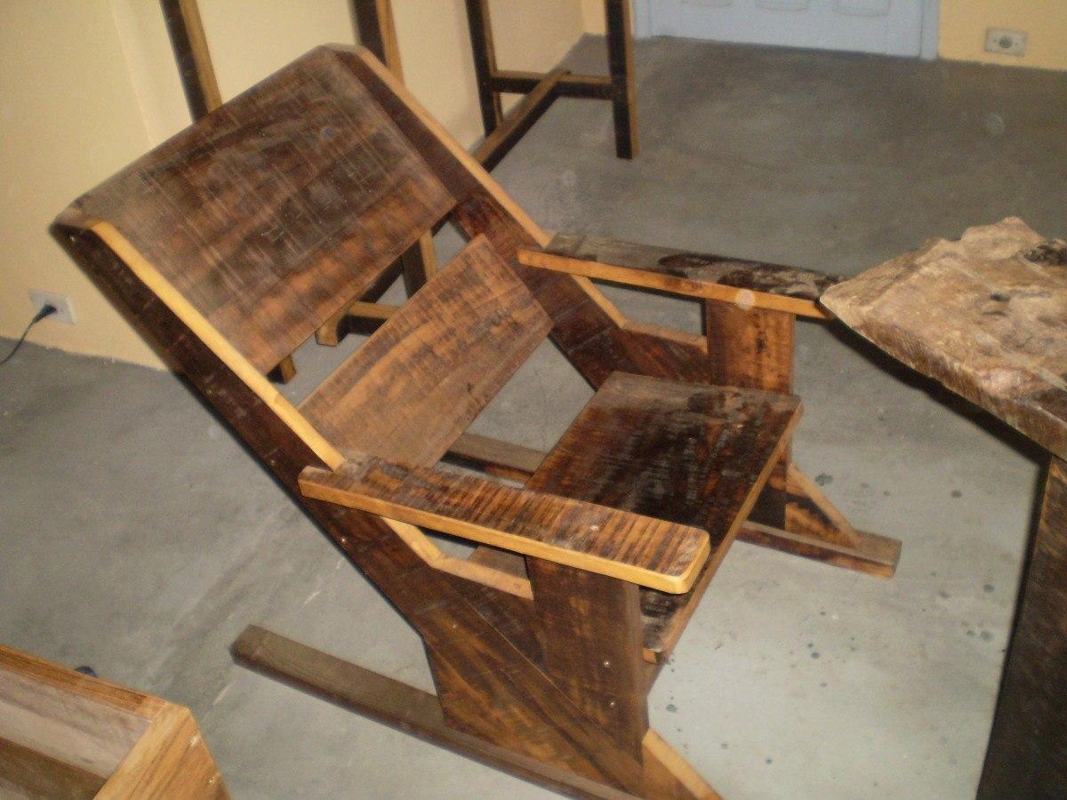 Cadeira De Descanso Rústica R$ 300 00 no MercadoLivre #B67B15 1200x900