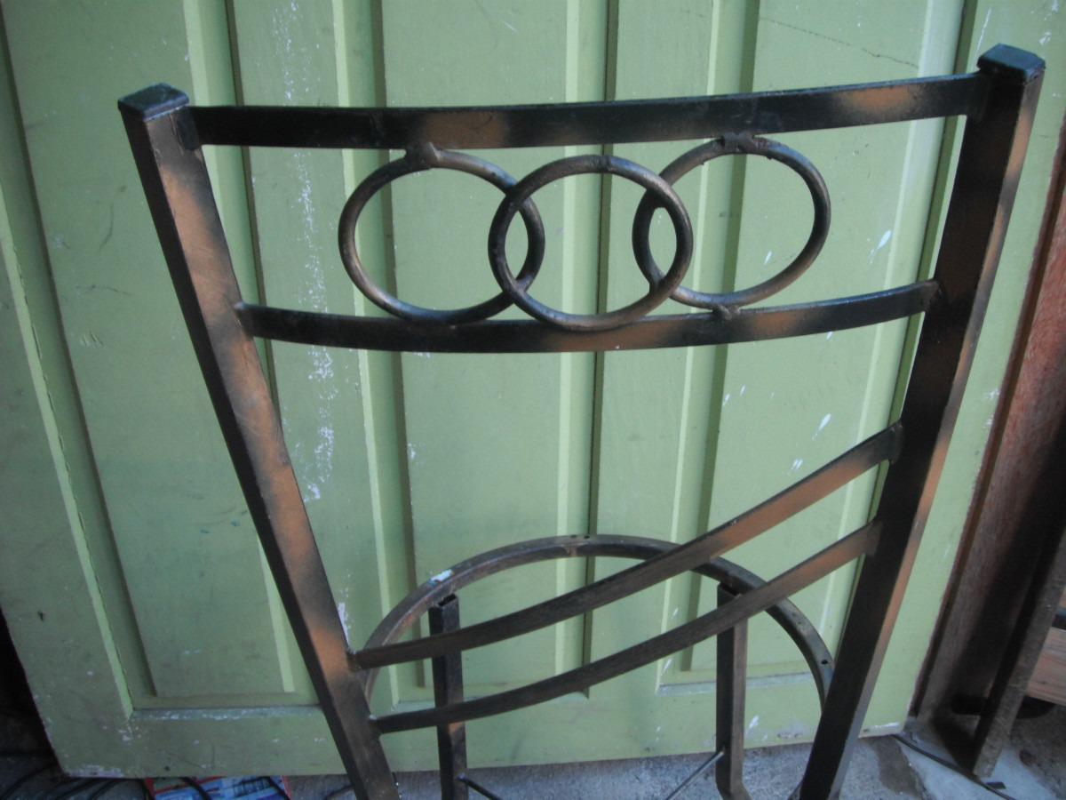 Cadeira De Ferro Antiga R$ 90 00 no MercadoLivre #4F7C5E 1200x900