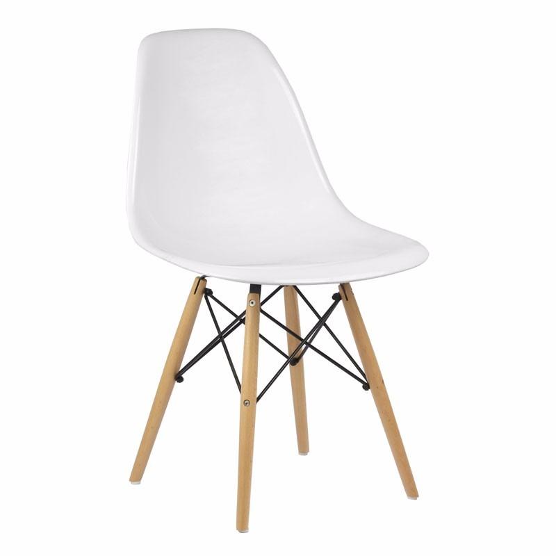 Cadeira Acrilica Charles Eames Dkr Wood Base De Madeira Pictures to ...