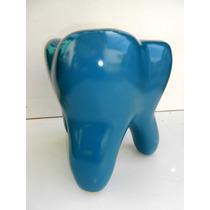 Banco Dente - Decoração Casa E Consultório Dentário