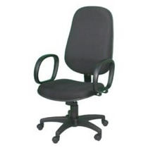 Cadeira Presidente Tecido Ou Corino