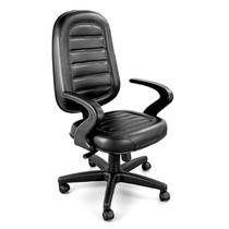Cadeira Presidente Costure Giratória