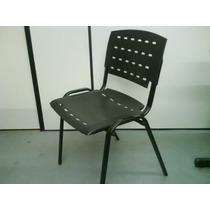 Cadeira Fixa Em Plastico Injetavel
