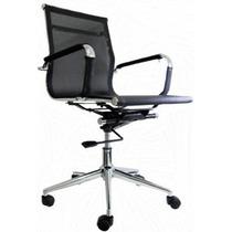 Cadeira Escritório Giratória Diretor Em Tela C/ Nf