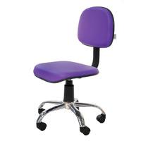 Cadeira Secretaria Escritório Giratória Hv10- Lilás - Cor