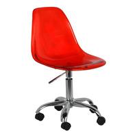 Cadeira New Office Charles Eames Vermelha Pc - 12x Sem Juros