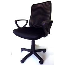 Cadeira Escritório Executiva Giratória Em Tela Mesh Promoção