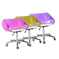 Cadeira Acrílica Modelo Envelope Office Para Sala De Espera