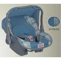Bebê Conforto Nino Tutti Baby P/ Carro Carrinho Azul Jeans