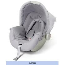 Tecido/estofado/capa-bebê Conforto Piccolina Cinza Galzerano