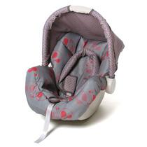 Bebê Conforto Cadeira Auto Piccolina Cinz/verm - Galzerano