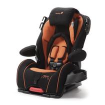 Assento Carro Bebê Safety Alpha Omega Elite Preto/laranja