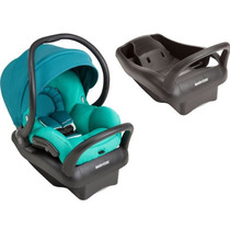 Bebê Conforto Maxi Cosi Mico Max 30 Verde Água C/ Base Preta