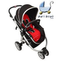 Carrinho De Bebê Dardara Absoluto Vermelho (danibebe)
