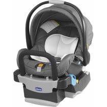 Bebê Conforto Key-fit Cinza Chicco Cadeira P/ Auto (carro)