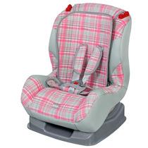 Cadeirinha Para Carro Tutti Baby 9 A 25 Kg Xadrez Rosa