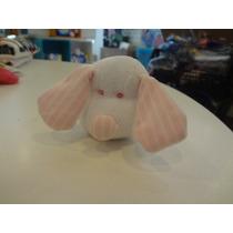 Chocalho Cachorro Listras Rosa - Zip Toys