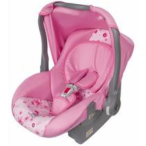 Bebê Conforto Nino Tutti Baby P/carro Carrinho Rosa Laço New