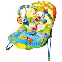 Cadeira De Descanso Dican Bichos Da Selva Com Função Musical