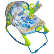 Cadeira Cadeirinha Bebê Descanso Musical Vibratória Rocker
