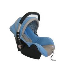 Bebe Conforto Para Carro C/ Inmetro Azul C/ Cinza Life