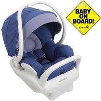 Bebê Conforto Maxi Cosi Mico Max 30 Azul Com Base Branca