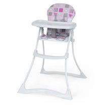 Cadeira De Alimentação Bon Appetit Patchwork Rosa Burigotto