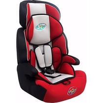 Cadeira Para Automóvel - Preta, Vermelha E Cinza - 9 A 36kg
