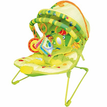 Cadeirinha Cadeira Descanso Musical Bebe Frutinhas Dican