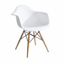 Cadeira Charles Eames Wood - Daw - Com Braços - Design
